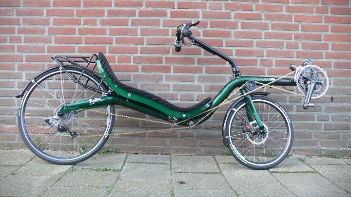 De haber aparecido una persona en una bicicleta NORMAL lo hubiese preferido, pero no hubo opción